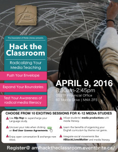 Hack the Classroom: Radicalize your media teaching.