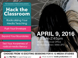 Hack the Classroom: Radicalizing your media teaching