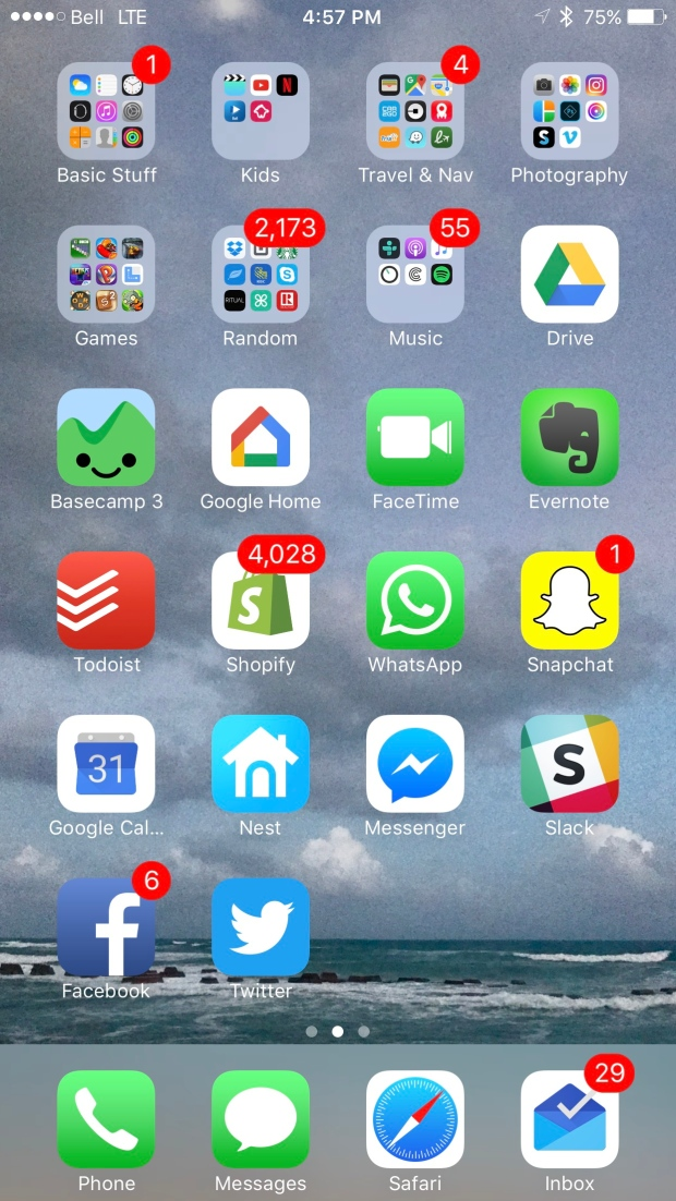 What does a home screen reveal the association for for Cool way to arrange iphone apps
