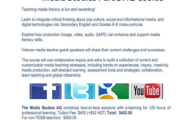 the association for media literacy - aml