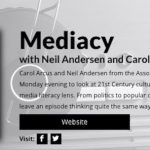 Tune in to Mediacy – AML's lively podcast on all things media literacy!