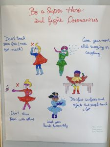 Be a Superhero and Fight Coronavirus