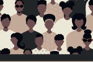 multiracial graphic